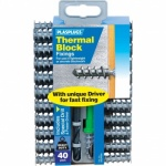 Plasplugs Thermal Block Fixings Pk40 (SSCP558)