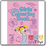 **Discontinued** The Girl's Colouring Book