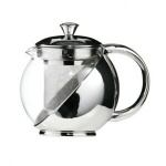 S/S And Glass Teapot 500ml