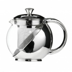 S/S And Glass Teapot 750ml