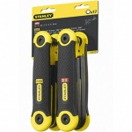 Stanley 17pc Metric +sae Folding Hex Key Set