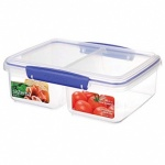 Sistema Rectangular Range Food Box 1Ltr Split