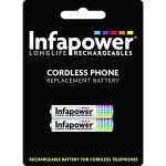 Infapower AAA Battery Pk2 (T004) For Cordless Phone