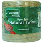 Kingfisher 250 Meter Heavy Duty Natural Garden Twine [HDNT250]