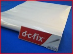 DC Fix Decorative Self Adhesive Film 45cm x 15m Plain Glossy White (F2001273)