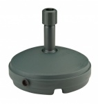 7Ltr Round Parasol Base - Ward Green