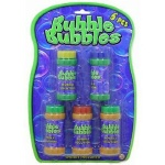 Bubbles 5 Tubs 2.3oz On Blistercard