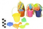5pc SMALL BUCKET SETS - 4 ASSORTED - ''NALU'' - NETTED