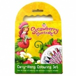 **Discontinued** Strawberry Shortcake Carry Along Colouring Set