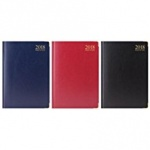 A4, Week to View Diary Padded cover with Metal