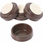Castor Cup Small brown 4pk
