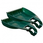 WHITEFURZE LEAF GRABBER SET 2 RACING GREEN