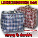 PVC Jumbo Shopping Bag 31x26x12IN