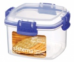 Sistema 400ml Klip It Small Cracker food box