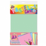 **Discontinued** 10 Sheets A3 Pastel Card