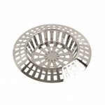 Chrome Sink Strainer 45mm (14.5cmx8.4cm)