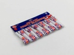 12pc Union Jack Design Party Blow Outs In PP Bag