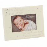 **Discontinued** Diamante Baby Frame 4x6