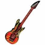Inflatable Guitar 106cm Flame