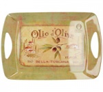 Lux Handled Small Tray - Olio D' Oliva
