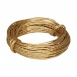 Picture Wire Brass 3.5 Metres