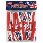 10pc Union Jack Design Party Horn in PP Bag