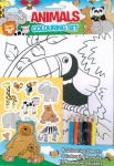 **Discontinued** ANIMALS COLOURING SET