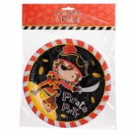 **Discontinued** Pirates - 8x9'' Plates