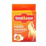 Instant heat relief hand warmers 3pk