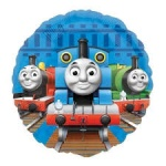 18'' Character Foil Balloon : Thomas Non Message