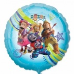 18'' Character Foil Balloon : Zingzillas Non Message