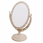 20.5cm Round Pearl/Mirror C/Stand