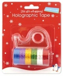 6 Rolls of Holographic Tape with Dispenser