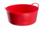 Tubtrug Flexible Small Shallow Red (15Ltr)