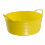 Gorilla Tub Small Shallow Yellow (15Ltr)