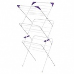 Minky Essential 3 Tier White Airer.
