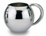 Cream / Milk Jug 14 oz S/S Handle 'Rondeo' 0.4 Ltr.