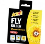 Active Fly Killer Window Stickers - Twin Pack