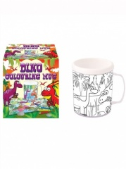 **Discontinued** Mug Colouring Dinosaur