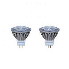 Red/Grey MR11 (35mm) 20W Dichroic Halogen Lamps Pk3 HL09/3P