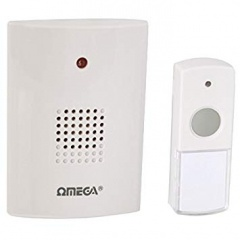 Omega Cordless Portable Door Chime Set