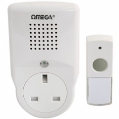 ***Plug-In Wireless Door Chime (17527)