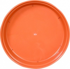 WHITEFURZE SAUCER FOR 7 8 IN POT TERRACOTTA