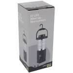 12 LED Wind UP Mini Lantern Set