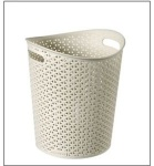 Curver My Style Paper Bin - 13L Vintage White