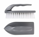 Elliots Iron Shaped Scrubbing Brush with Handle