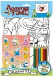 Adventure Time Colouring Set
