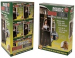 2pc Magic Door Mesh In Pvc     Coated Printed Box