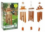 26'' Large Garden Bamboo        Windchimes 3asst In Col Box