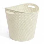 Curver My Style Round Basket 30L Vintage white